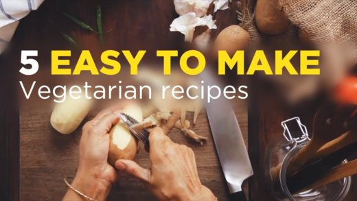 5 Easy To Make Vegetarian dishes at Home