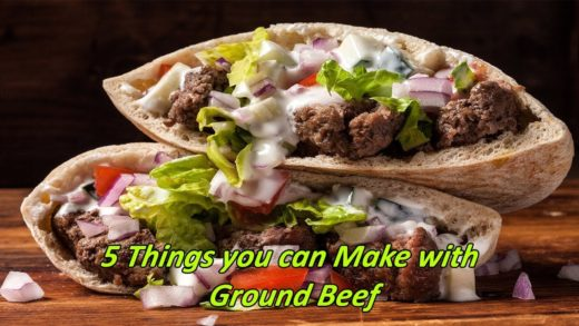 5 Healthy Ground Beef Recipes for Dinner | Things you can Make with Ground Beef