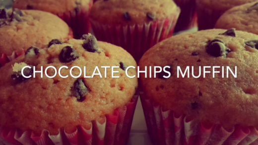 AMERICAN Chocolate Chips Muffins