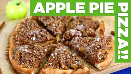 APPLE PIE Pizza!? Thanksgiving Dessert Pizza!