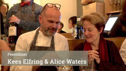 Alice Waters @ Marius Amsterdam