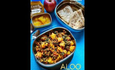 Aloo methi lunch box recipe