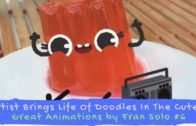 FOODporn.pl Artist Brings Life Of Doodles In The Cutest – Great Animations by Fran Solo #6