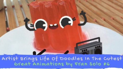 Artist Brings Life Of Doodles In The Cutest - Great Animations by Fran Solo #6