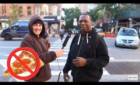 Asking New Yorkers Why Their Pizza Is So Bad Prank