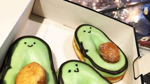 Avocado donuts are the cutest thing everrr!! - :  Follow  for more delicious videos! . . .                              ...