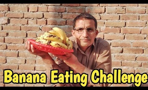 Banana Eating Challenge - Food Eating Competitions - Villager Foodie Official