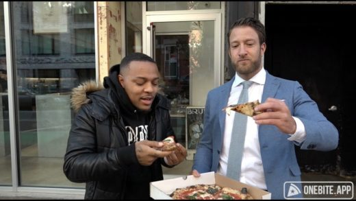 Barstool Pizza Review - Bruno Pizza With Special Guest Bow Wow