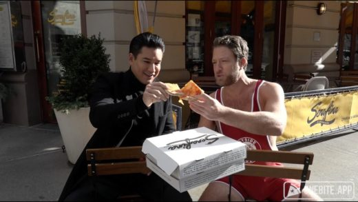 Barstool Pizza Review - Serafina Broadway with Special Guest Mario Lopez