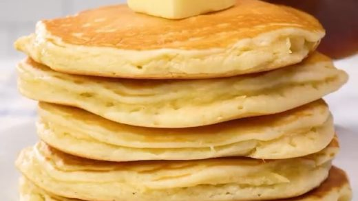 Best Homemade Pancakes!  Follow:   . . By: Recipes (FB)  . . . . ⠀⠀⠀ ⠀ ⠀⠀⠀ ⠀                          ...