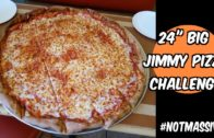 FOODporn.pl Big Jimmy 24″ Team Pizza Challenge at Jimmy & Joe's in Mesa, AZ | Freak Eating