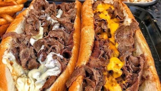 CLASSIC PHILLY CHEESESTEAKS! : Tag A Friend That Would Dig This!  Follow   Follow   Follow     &  All rights and credits reserved to the respective owner(s)  Post your best food pics with                               ...