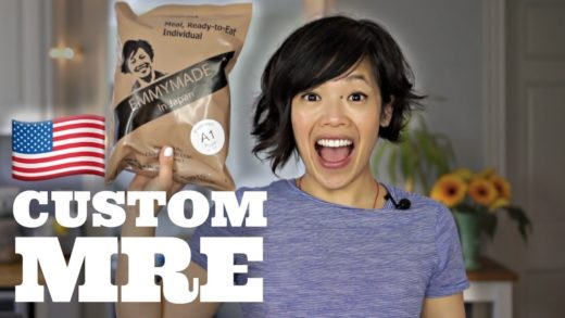 CUSTOM Meal Ready-to-Eat with my face on it | PEPPERONI PIZZA! Emmymade Exclusive U.S. MRE Ration