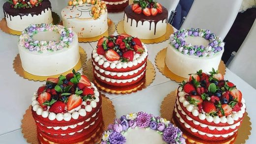Cake table Which cake you'd choose and eat?    How many friends would you need to finish this all?  - Start to bake with ...
