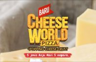 FOODporn.pl Cheese World Pizza dengan Popping Cheese Crust – BARU!!