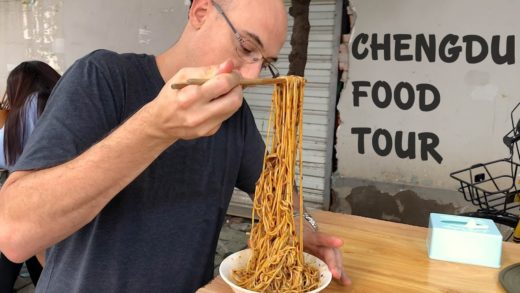 Chinese Street Food in Chengdu + Spicy Sichuan Food in China