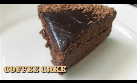 Coffee cake recipe/eggless choco coffee cake