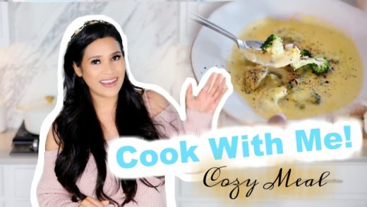 Cook With Me! - Cozy Winter Soup Recipe -  MissLizHeart