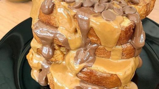 Cookie Butter & Chocolate Chip French Toast  : Tag A Friend That Would Dig This!  Follow   Follow   Follow     &  All rights and credits reserved to the respective owner(s)  Post your best food pics with                               ...
