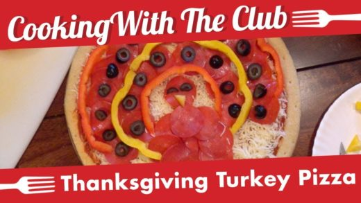 Cooking With The Club: Turkey Pizza