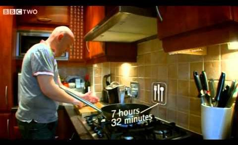Cooking: quantity vs quality - which partner triumphs?  Who Does What Preview - BBC Two