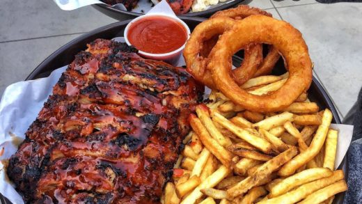 Craving ribs & fries for my Monday - :  . . .                              ...