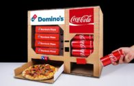 FOODporn.pl DIY How to Make Dominos Pizza and Coca Cola Vending Machine