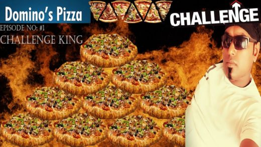 Dominos Pizza Mania Fast Eating challenge - Episode No #1 of Challenge King