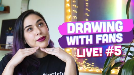 Drawing with Fans! iHasArt #5 | Disco Space Pizza