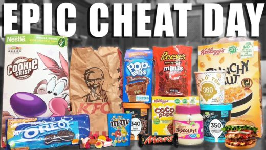 EPIC CHEAT DAY #10 (PopTarts, Ice cream, Pizza, Donuts...) | How to calculate your MACROS?