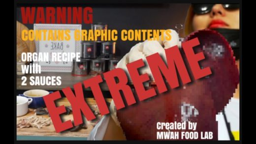 EXTREME FOOD | EAT IF YOU DARE | ORGAN & SAUCE RECIPE created by MWAH FOOD LAB