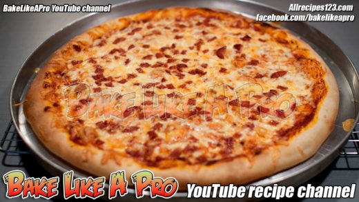 Easy No Fail Pizza Dough Recipe And Pizza Recipe