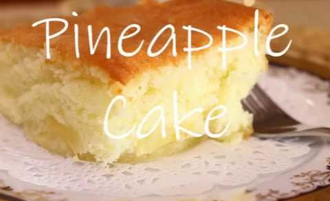 Easy Pineapple Cake | KitchenAid Mixer Recipes