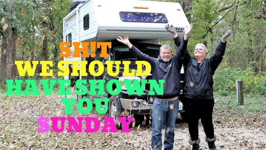 FROM THE VIDEO ARCHIVES, MCINTOSH WOODS CAMPGROUND, RV COOKING, BEAN SOUP RV Living And Travel Vlog