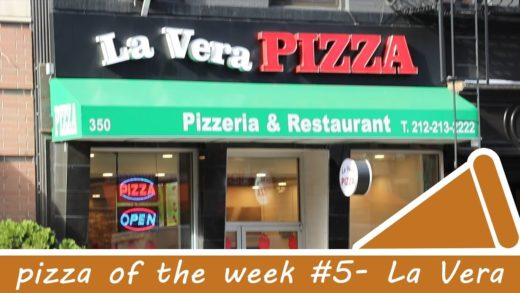 GIANT SLICES! Pizza of the Week #5 - La Vera Pizza