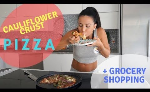 HEALTHY PIZZA   Cauliflower Crust Pizza   Grocery Shopping