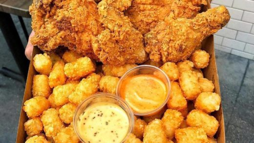 Happy Fryday  Fried Chicken & Tater Tots coz that's part of Fryday too.  Tag your  friends.  By  ...
