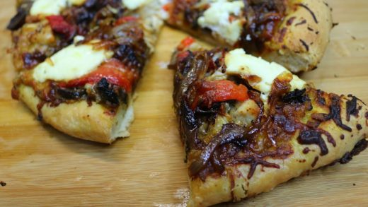 Harvest Pizza ~ Perfect Fall Flavor ~ Noreen's Kitchen