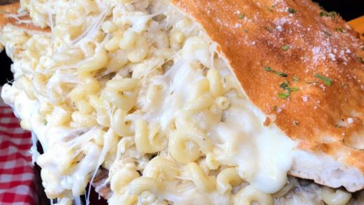 Have you ever seen something more beautiful? Mac and cheese calzone    :  . . .                            ...