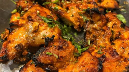 Hot and spicy tandoori chicken   Tag someone who would love this. . . . ...
