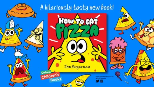 How To Eat Pizza - a hilarious new picture book from Jon Burgerman