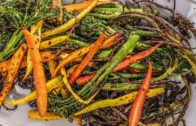 FOODporn.pl How to Make Roasted Broccolini and Baby Carrot by Rachael