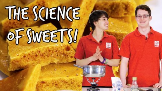 How to make honeycomb | The Science of Sweets | We The Curious