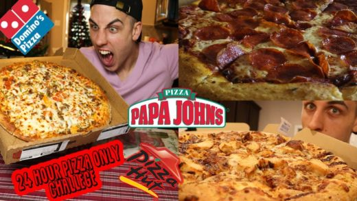 I ate nothing but PIZZA for 24 hours (MY EXPERIENCE?)