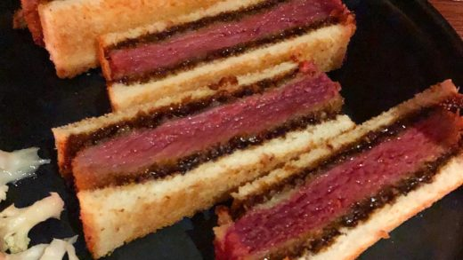 Iberico Pork Katsu Sandwiches from  has us going around and around for MORE! ...