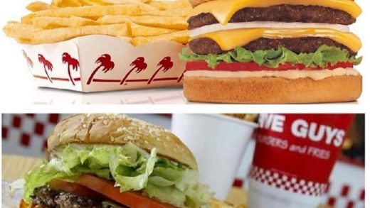 In-N-Out VS Five guys!!! Comment which one is better!! ...