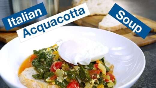 Italian Acquacotta (Cooked Water) Soup Recipe || Glen & Friends Cooking