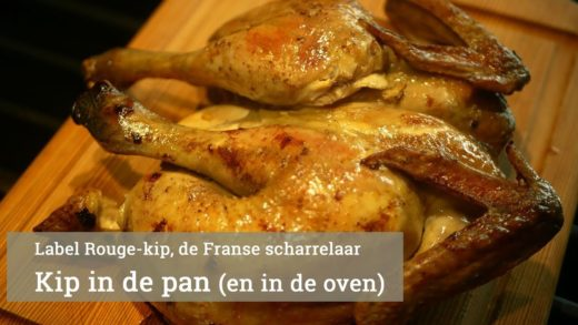 Kip in de oven (en de pan)