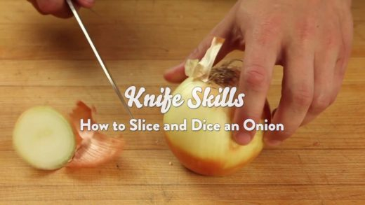 Knife Skills: How to Slice and Dice an Onion