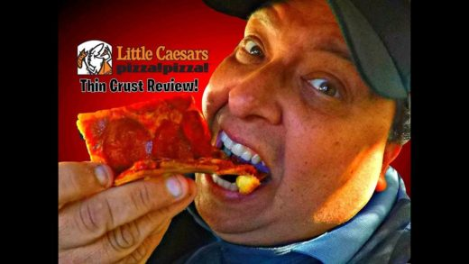 LITTLE CAESARS® Mouthwatering Thin Crust Pizza Review!